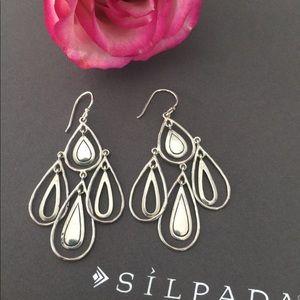 Silpada Jewelry - Silpada .925 Sterling Silver Rain Dance Earrings